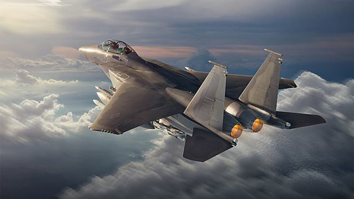 Boeing releases concept images of its new Advanced Eagle fighter aircraft