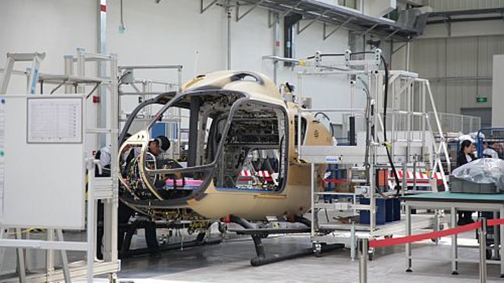Airbus becomes first foreign helicopter manufacturer to open Chinese final assembly line facility