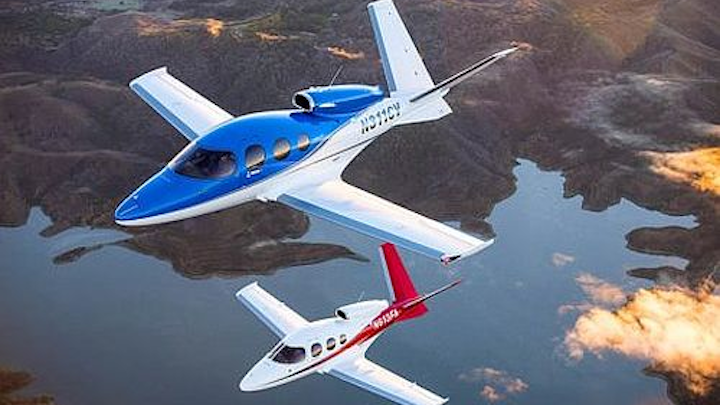 FAA grounds the Cirrus VisionJet over 'angle of attack' sensor issues