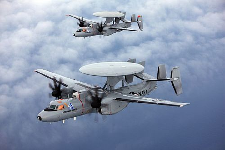 U.S. Navy awards Northrop Grumman $3.2 billion contract to deliver two dozen E-2D early warning aircraft
