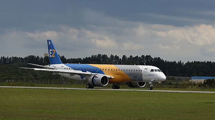 Embraer's E195-E2 granted certification by FAA, ANAC, and EASA