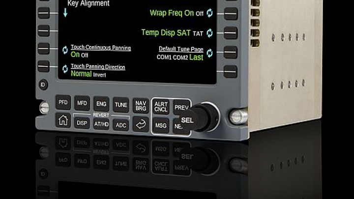 Universal Avionics receives STC for InSight touchscreen control