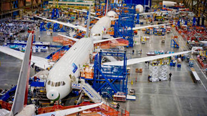 Global commercial aircraft sector grew 8.9 percent in 2013; record production expected to continue, says Deloitte