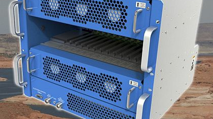 6U OpenVPX chassis for avionics and military embedded computing offered by Curtiss-Wright