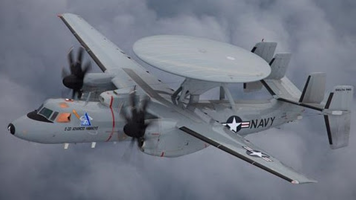 Navy to buy five E-2D radar aircraft from Northrop Grumman in $781.5 million contract