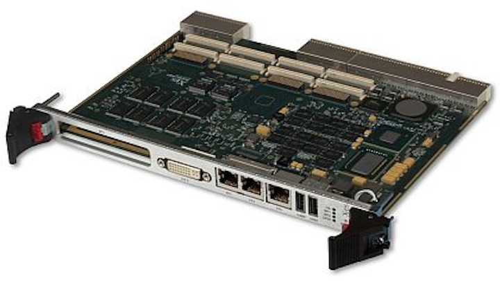 6U CompactPCI embedded computing board based on 2nd Gen Intel Core i7 introduced by X-ES