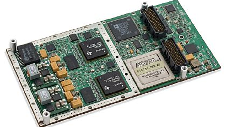 Rugged video-compression XMC introduced by GE for military and avionics applications