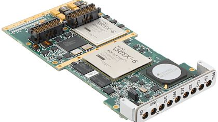 Tuner and digital receiver XMC boards introduced by Mercury for SIGINT and EW applications
