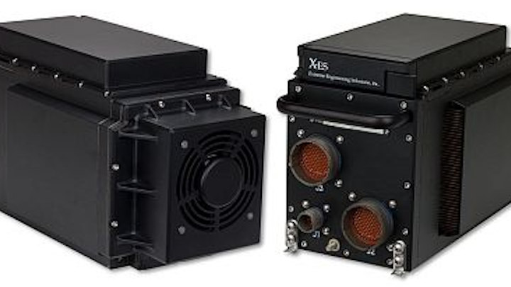 Sub-half-ATR embedded computing enclosure for vetronics and avionics introduced by X-ES