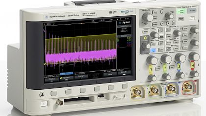 Four 1-GHz oscilloscopes introduced by Agilent for high-bandwidth bench scope applications