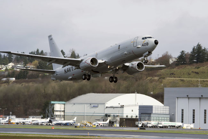 AAR and Boeing to perform U.S. Navy P-8A fleet airframe maintenance