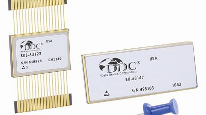 MIL-STD-1553 avionics databus replacements for NHi-65118 and NHi-15137 applications introduced by DDC