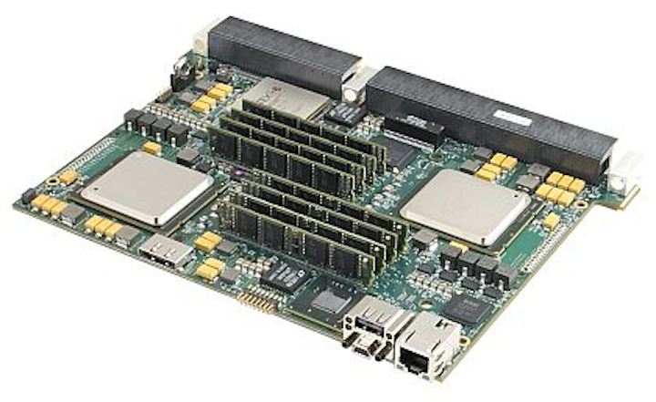 6U OpenVPX rugged computer blade for military embedded systems introduced by Mercury