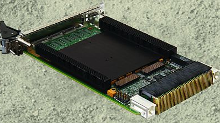 Rugged 3U OpenVPX CPU board based in 3rd Generation Intel Core processor introduced by Curtiss-Wright