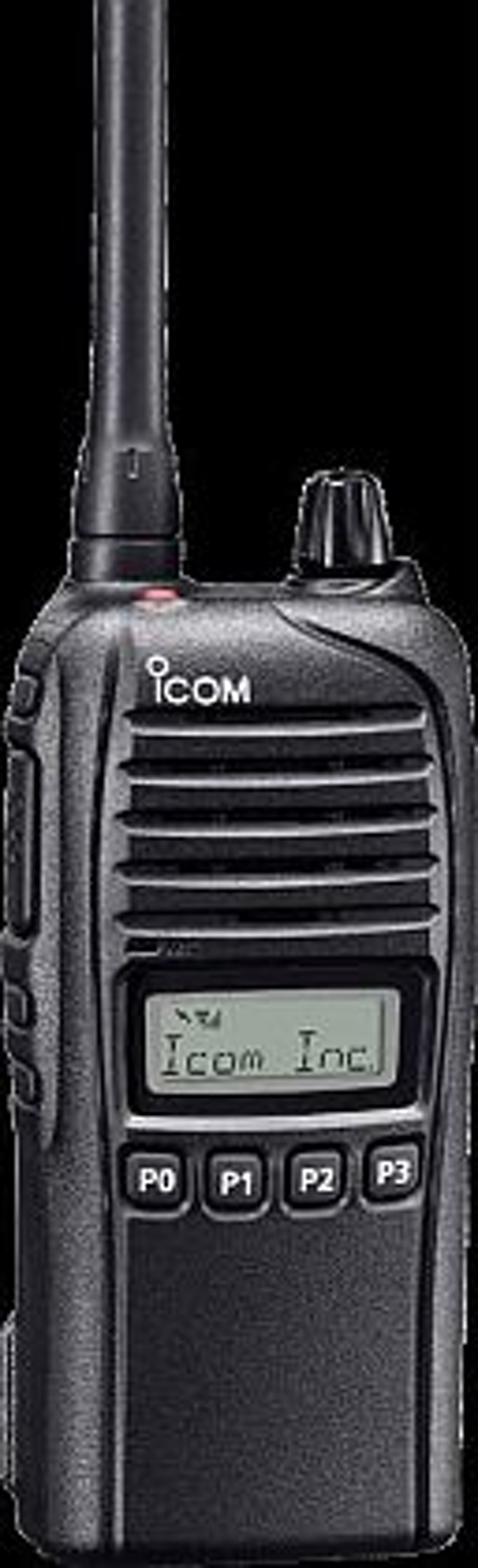 Rugged, waterproof land-mobile radio that meets military specifications introduced by Icom