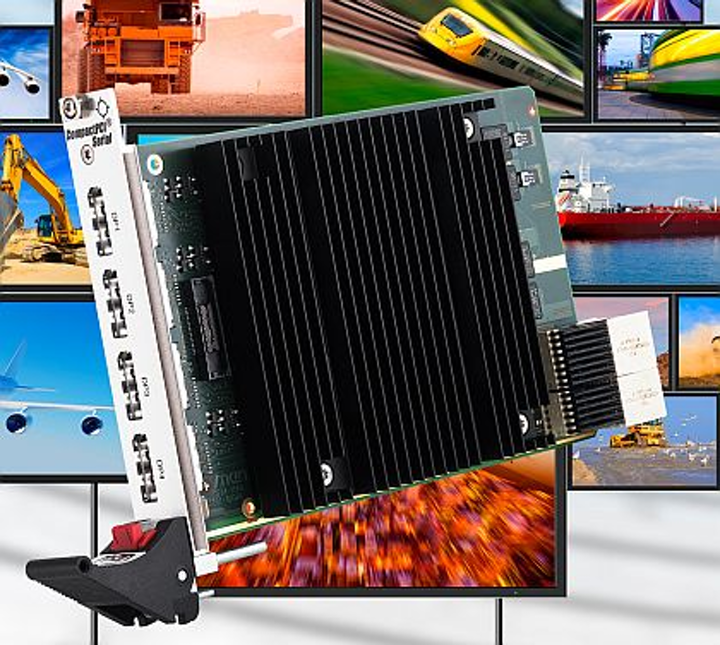 Multi-display controller board for radar and video surveillance introduced by MEN Micro