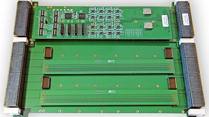 Extender modules to test 6U and 3U VPX boards outside the chassis introduced by PCI Systems