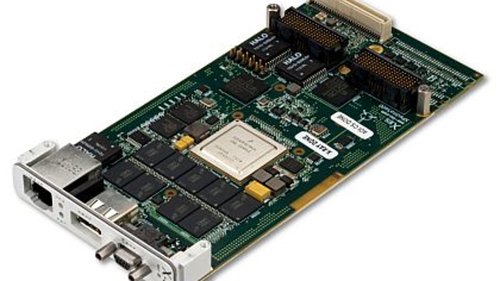 Air-cooled PrPMC/XMC embedded computing module for military embedded systems introduced by X-ES