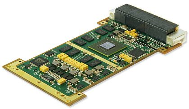 3U VPX rugged graphics board with NVIDIA CUDA GPGPU for military embedded systems introduced by GE