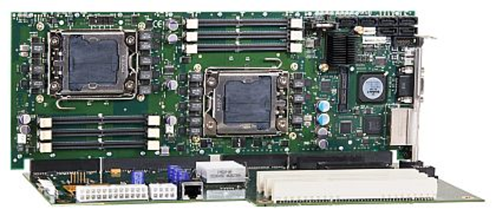 Dual-processor PICMG 1.3 single-board computer for military and aerospace introduced by Trenton