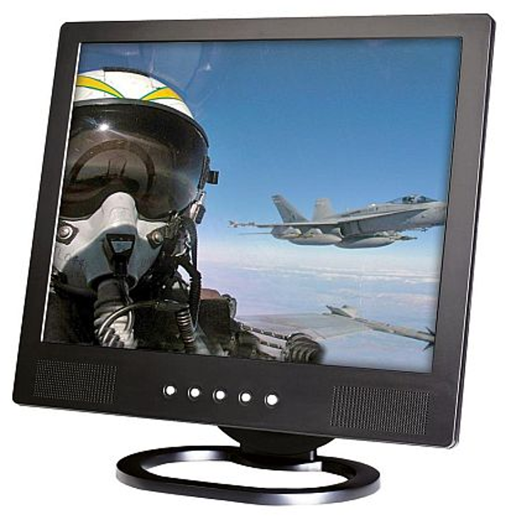 19-inch sunlight-readable rugged LCD monitors for vetronics, avionics, and railways introduced by TRU-Vu