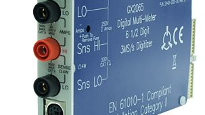 PXI digital multimeter for high-performance test and measurement applications introduced by Geotest
