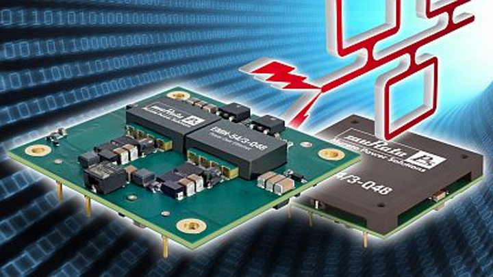 DC-DC power supply for power-over-Ethernet (PoE) applications introduced by Murata