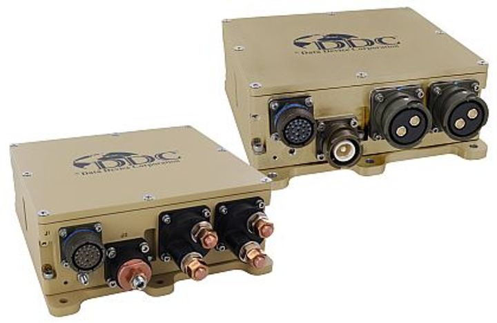 Rugged intelligent power control for vetronics and avionics introduced by DDC