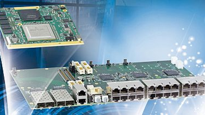 10G/1G Ethernet switch core modules for avionics and military switches introduced by Kontron