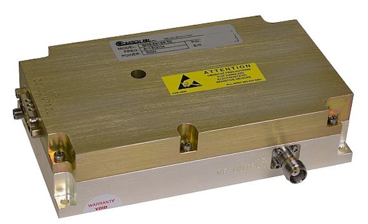 Comtech PST introduces solid-state RF module for communications, electronic warfare, and radar
