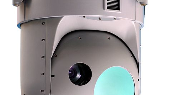 Infrared sensor payload for UAVs, helicopters, and light jets introduced by Elbit