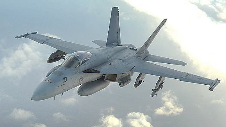 Harris wins $161M to provide F/A-18 electronic warfare technology for aircraft safety, mission success