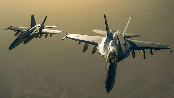 Boeing to build 14 new F/A-18E/F Super Hornet combat aircraft in $676.6 million deal