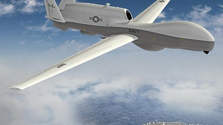 Northrop Grumman to provide electronic components for MQ-4C Triton maritime search radar