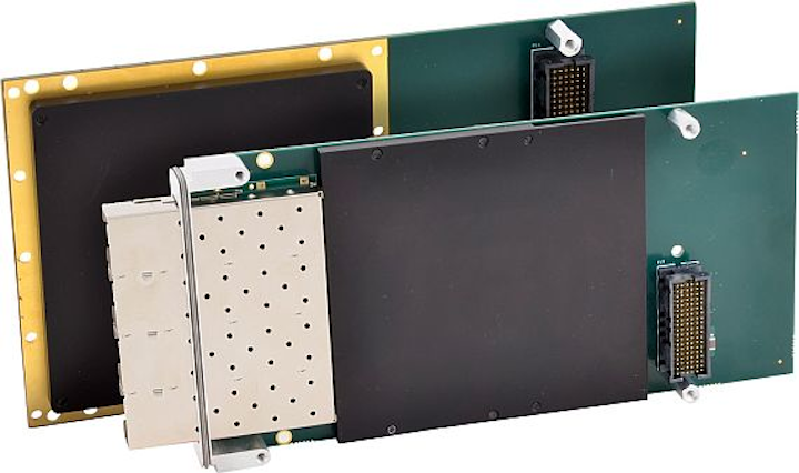 Rugged 10 Gigabit Ethernet XMC modules for applications in extended temperatures introduced by Acromag