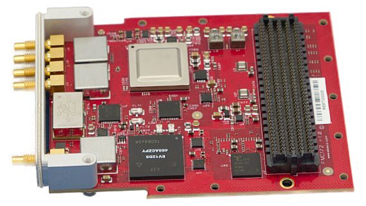 FMC mezzanine card for embedded computing in radar and communications introduced by Abaco
