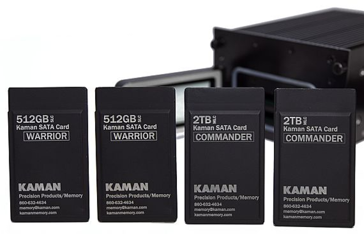 Rugged military and aerospace system for encrypted data storage in harsh environments introduced by Kaman