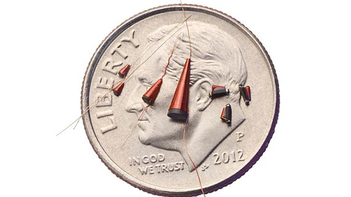 RF and microwave conical inductors for communications and test and measurement introduced by Gowanda
