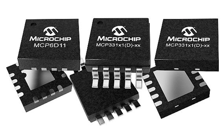 SAR A/D converters for high-temperature applications introduced by Microchip Technology