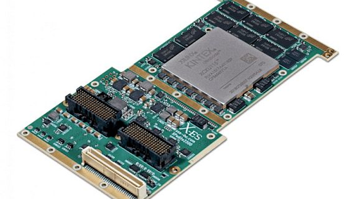 FPGA-based XMC embedded computing module for high-bandwidth data processing introduced by X-ES