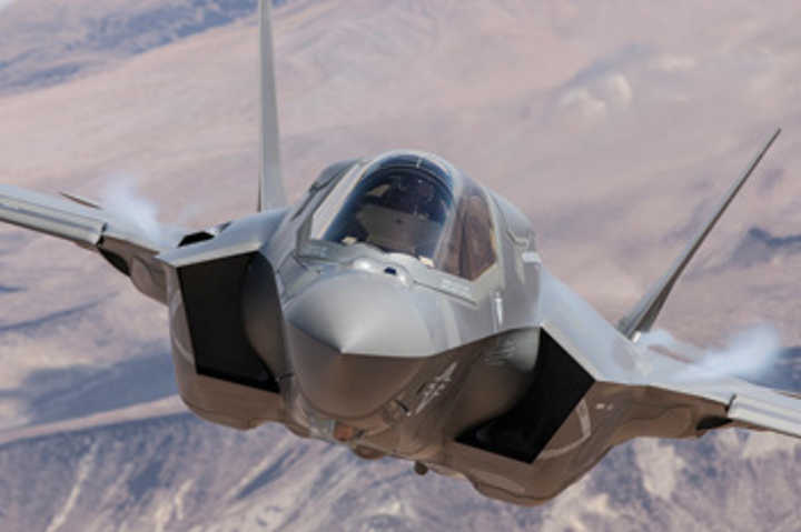Global military aircraft market to grow from $61 billion to $87 billion