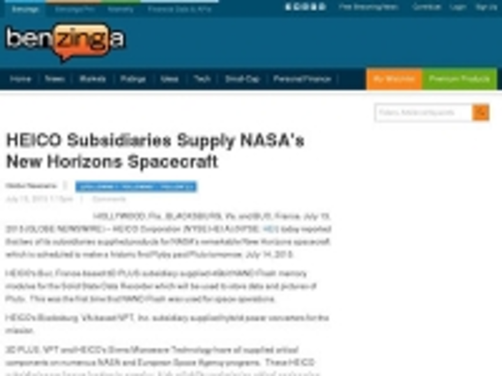 Content Dam Ias En Articles 2015 07 Heico Subsidiaries Supply Nasa S New Horizons Spacecraft Leftcolumn Article Thumbnailimage File