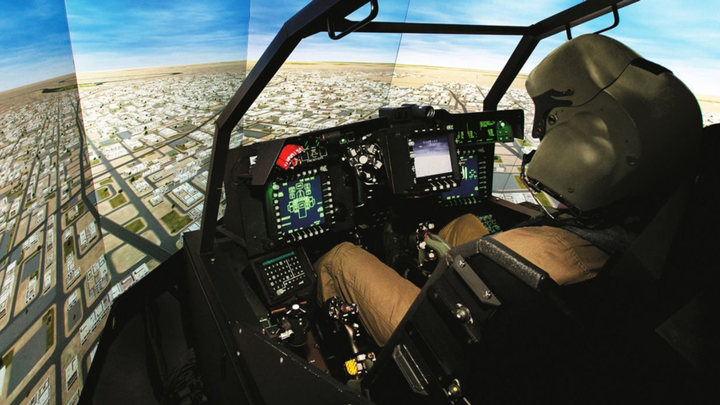 Boeing to upgrade AH-64 Apache helicopter flight simulators