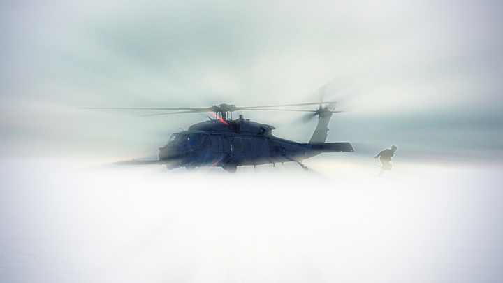 Snow-blind - Fifteen years after it happened, an amazing rescue of three Icelandic men trapped in a blizzard still stands out in the helicopter pilot's memory.