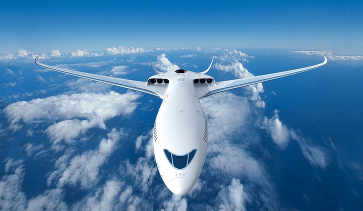 The E-Thrust concept can be described as a serial hybrid propulsion system.