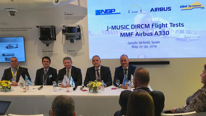Nato, Occar, Airbus And Elbit Systems Media Event (2)