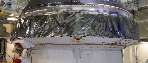 ESA's JUICE satellite's initial portion of construction completed