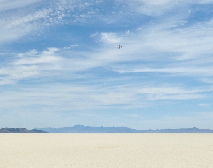 The Impossible Aerospace US-1 demonstrated its battery's range in an all-electric crossing of the Black Rock Desert earlier this month.