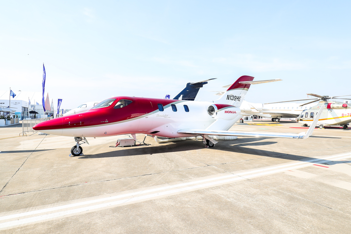 The HondaJet Elite made its debut in China at the the 2019 Asian Business Aviation Conference and Exhibition (ABACE) in Shanghai.