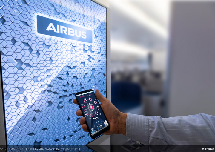 Airbus Connected Experience Flight Lab